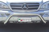 Přední ochranný nerez rám Mercedes ML 270/400 CDI