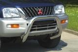 Přední ochranný nerez rám Mitsubishi L200 SUV