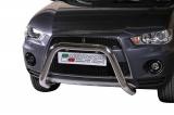 Přední ochranný nerez rám Mitsubishi Outlander II