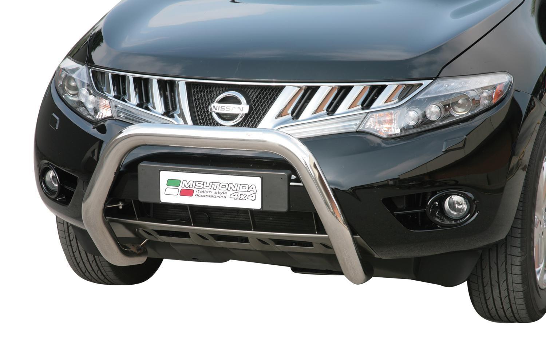 misutonida Přední ochranný nerez rám Nissan - Murano