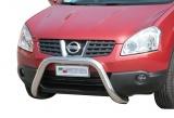 Přední ochranný nerez rám Nissan Qashqai