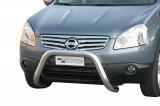 Přední ochranný nerez rám Nissan Qashqai +2