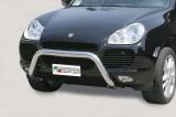 Přední ochranný nerez rám Porsche Cayenne