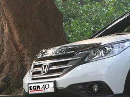 Plexi lišta přední kapoty Honda CR-V IV