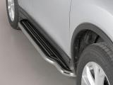 Boční nerezové nášlapy Nissan X Trail III