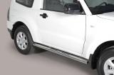 Nerez boční designové nášlapy Mitsubishi Pajero IV
