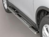 Nerez boční designové nášlapy Nissan X Trail III