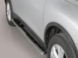 Nerez boční oválné nášlapy Nissan X Trail III