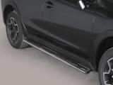 Nerez boční oválné nášlapy Subaru XV
