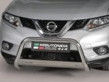 Nerezový přední ochranný rám Nissan X-Trail III, 63mm