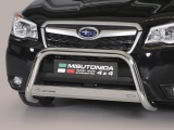Nerezový přední ochranný rám Subaru Forester, 63mm