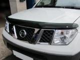 Plexi lišta přední kapoty Nissan Navara D40
