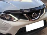 Plexi lišta přední kapoty Nissan Qashqai II
