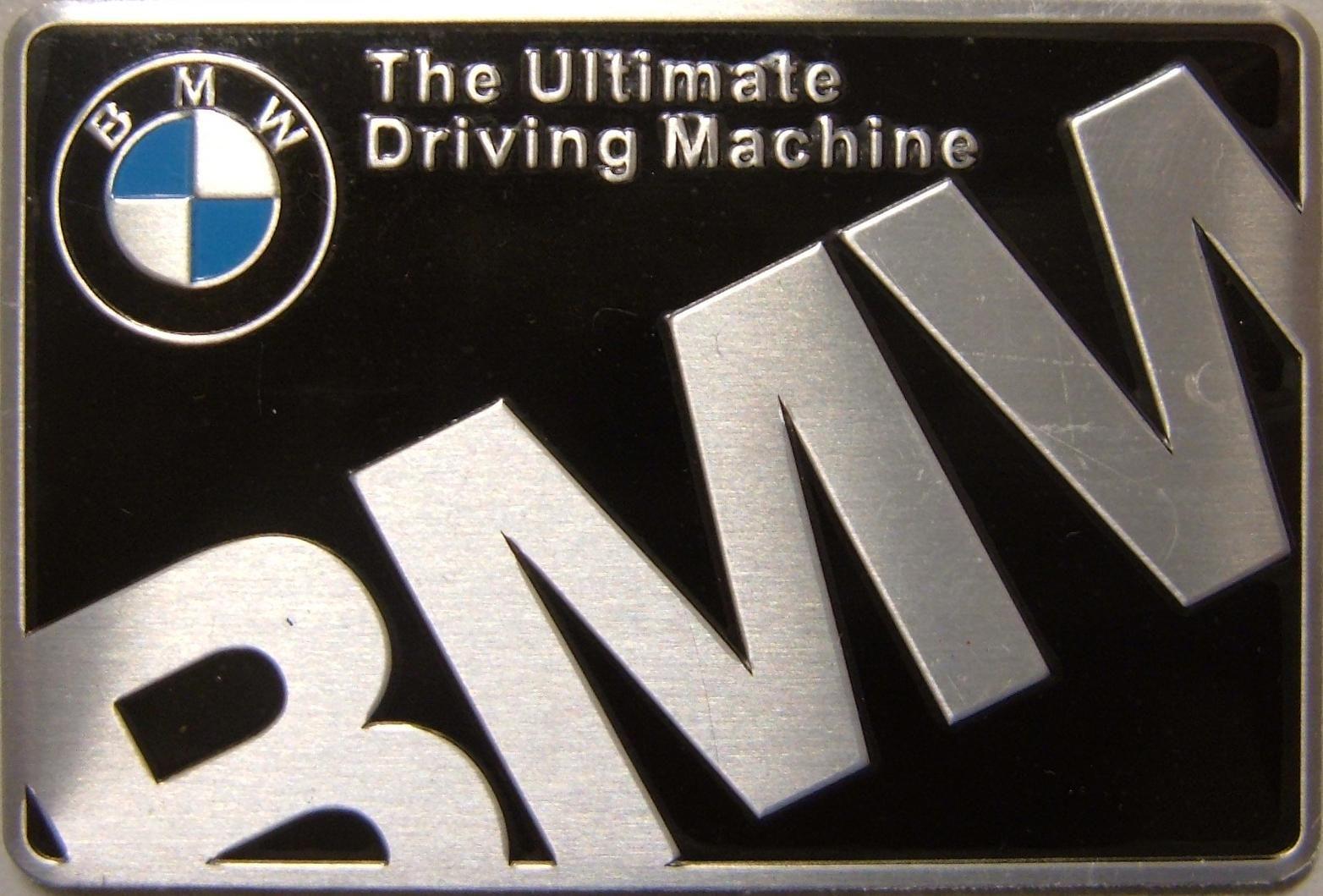 Samolepící znak BMW Ultimate
