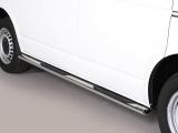 Nerez boční oválné nášlapy Volkswagen Transporter T6