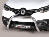 Nerezový přední ochranný rám 76mm Renault Kadjar