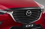 Plexi lišta přední kapoty Mazda CX-3
