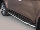 Boční nerezové nášlapy Nissan Navara NP300