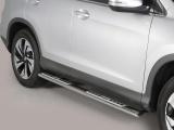 Nerez boční designové nášlapy Honda CR-V IV facelift