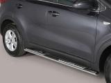 Nerez boční designové nášlapy Kia Sportage IV