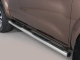 Nerez boční nášlapy se stupátky Nissan Navara NP300