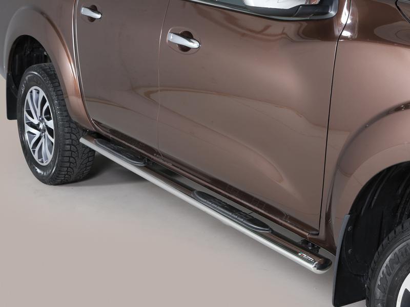Nerez boční oválné nášlapy Nissan Navara NP300 misutonida