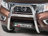 Nerezový přední ochranný rám - vysoký 63mm Nissan Navara NP 300