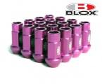 Kolové racingové matice (štefty) Blox závit M12 x 1.5 - fialové