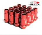 Kolové matice (štefty) Blox závit M12 x 1.25 - červené