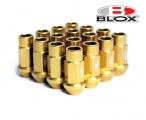 Kolové matice (štefty) Blox závit M12 x 1.25 - zlaté
