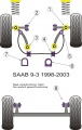 Silentbloky Powerflex Saab 9-3 (98-02) Front Track Control Arm Outer Bush (1)