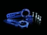 Přední a zadní odtahový hák (odtahové oko) Benen style - modrý