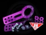 Přední odtahový hák (odtahové oko) Benen style - fialový