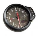 Přídavný budík Apexi DECS style - tachometr (120mm) - černý panel