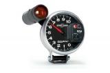 Přídavný budík Autometer Sport Comp II - tachometr (125mm) se shift lightem - černý/stříbrný