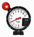 Přídavný budík Type-R - tachometr (125mm) se shift lightem - bílý/černý