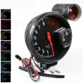 Přídavný budík Type-R - tachometr (125mm) se shift lightem - černý/carbon look