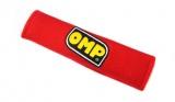 Návleky na bezpečnostní pásy OMP červené