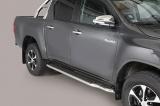Boční nerezové nášlapy Toyota Hilux VIII doublecab
