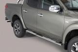 Nerez boční designové nášlapy Fiat Fullback