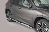 Nerez boční designové nášlapy Mazda CX-5