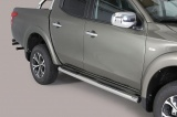 Nerez boční nášlapy se stupátky Fiat Fullback doublecab