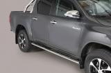 Nerez boční oválné nášlapy Toyota Hilux VIII doublecab