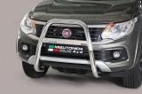 Nerezový přední ochranný rám 63mm - vysoký Fiat Fullback