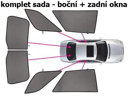 Privacy Shades Sluneční clony CarShades Volkswagen Passat B6, kombi
