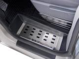 Kryty prahů-nerez, přední Renault Trafic III