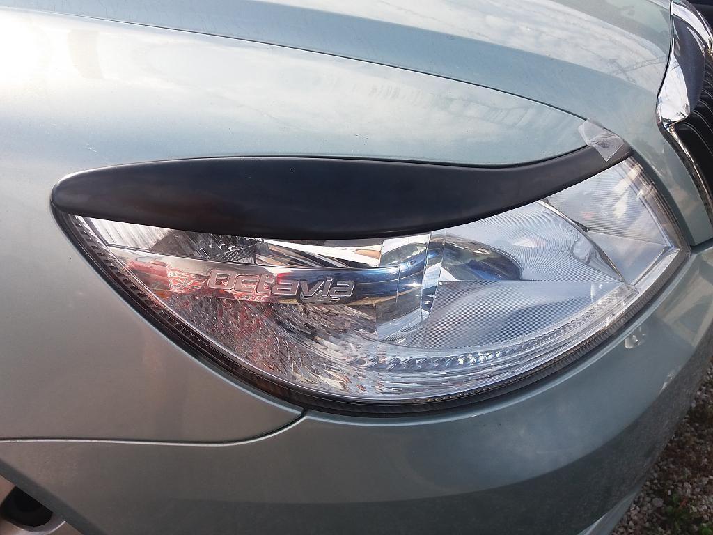 Mračítka předních světel Škoda Octavia II facelift