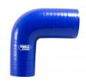 Silikonová hadice Samco redukční koleno 90° 57 > 51mm