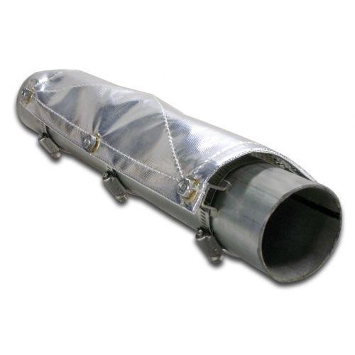 Tepelný štít (Pipe shield) Thermotec - 30,5 x 15,2cm se svorkami