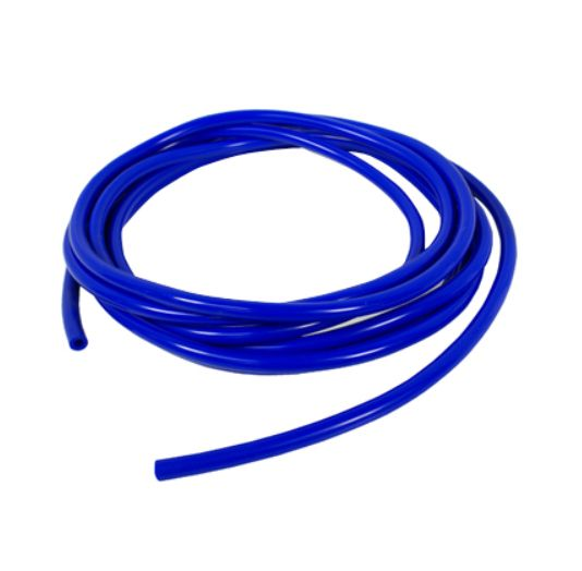 Podtlaková silikonová hadice HPP 3mm - 1 metr - modrá